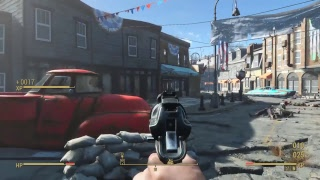 Fallout 4 Zombie Survival - PS4 -  (Live) Gameplay - Part 1