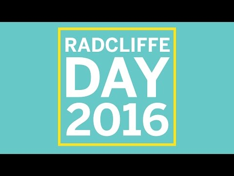 Radcliffe Day 2016 | Building an Economy for Prosperity and Equality || Radcliffe Institute on YouTube