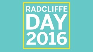 Radcliffe Day 2016   Building an Economy for Prosperity and Equality    Radcliffe Institute