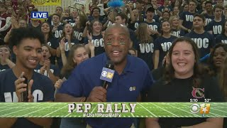 CBS 11 Pep Rally: Central High School Students Take Over Instagram