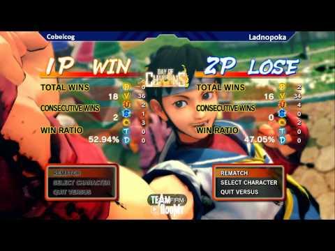 DoC 10 SSF4AE Tournament GRAND FINAL Cobelcog Rose Ryu vs Ladnopoka Honda
