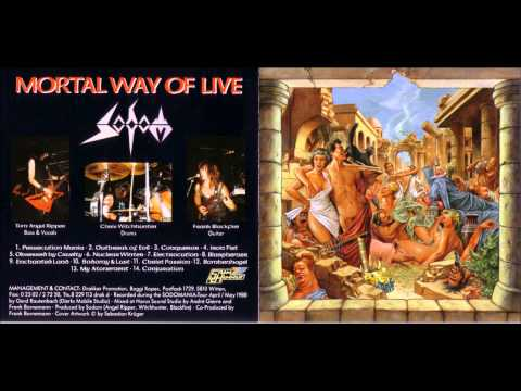 Sodom 1988 - Mortal Way Of Live FULL ALBUM thumb