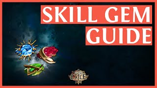 Path Of Exile: Beginner Tips - Skill Gems & Abilities - How Does It Work?