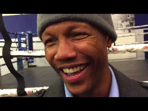 Zab Judah interview -- ahead of January 27, 2018 fight in Ca