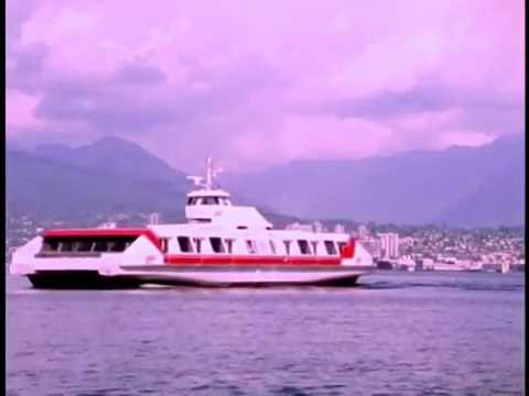 1984 film footage of the SeaBus