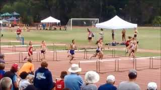Little Athletics - 2014 Regional Championships 5 U11 Girls 60M Hurdles Final