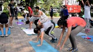 freeletics for beginners with Sahabat Setia Andien