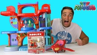 PJ Masks Roblox Pizza Place Delivery !    Toy Review    Konas2002