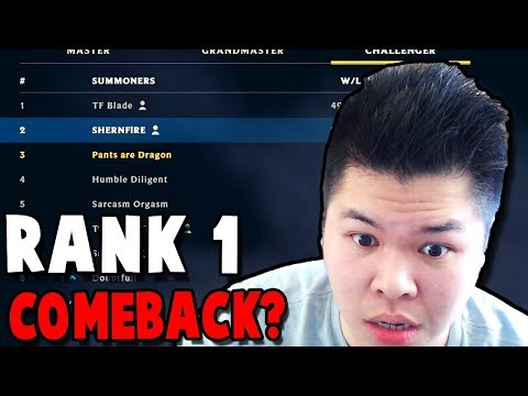 ARE WE ACTUALLY GONNA GET BACK RANK 1 FROM TF BLADE?? - Preseason to RANK 1