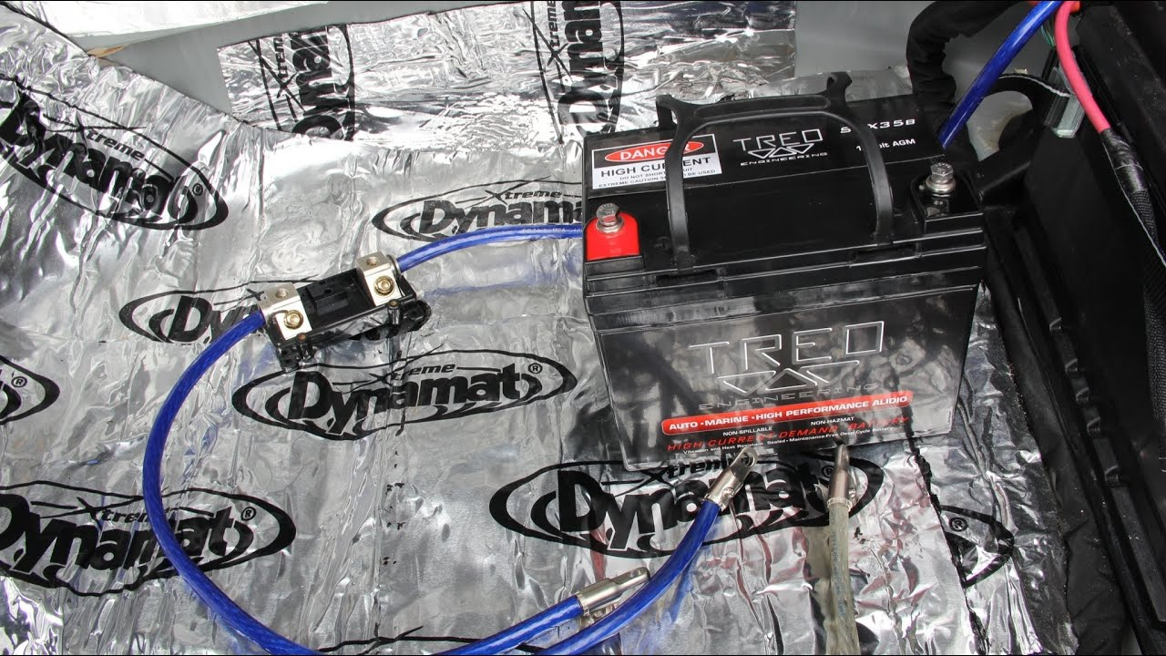 Treo Battery Ssx35b Installation In Dodge Charger R T 2nd