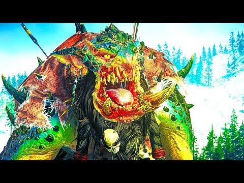 WINTERTOOTH CROWN - Norsca ⚔️ Dwarfs - Total War WARHAMMER Cinematic Battle Movie |