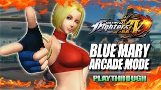 BLUE MARY - Arcade Mode: King Of Fighters 2018 DLC