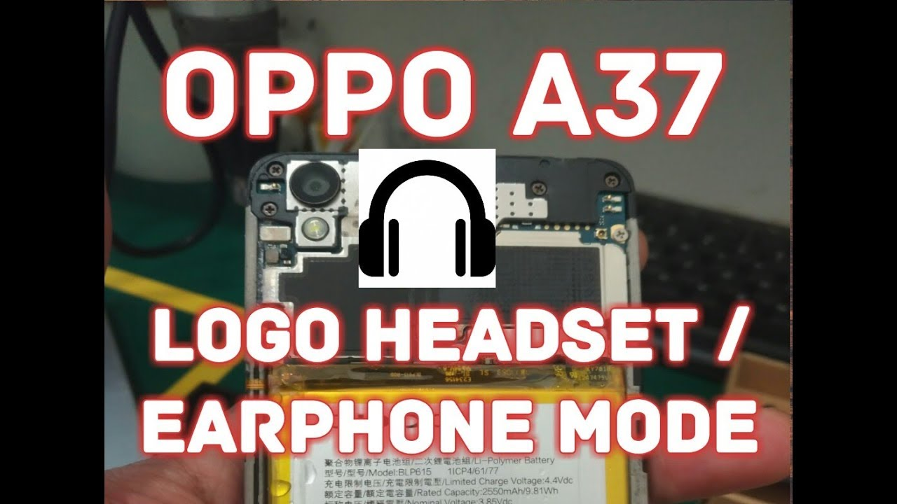 Cara Mengatasi Lambang Headset Earphone Mode Pada Oppo A37 Youtube