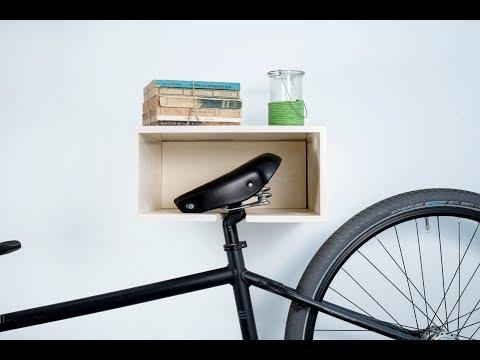 Wooden Sprocket Bike Rack