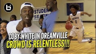 Coby White Taken into OT in Front of Hostile Crowd!! (33 points, 14 rebounds, 5 assist)