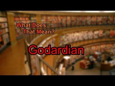 What does Godardian mean?