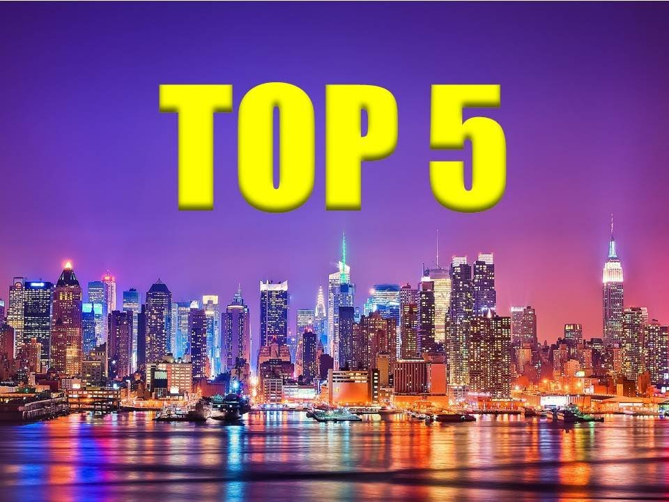 Top 5 most populated cities in the united states of for Best cities in the united states