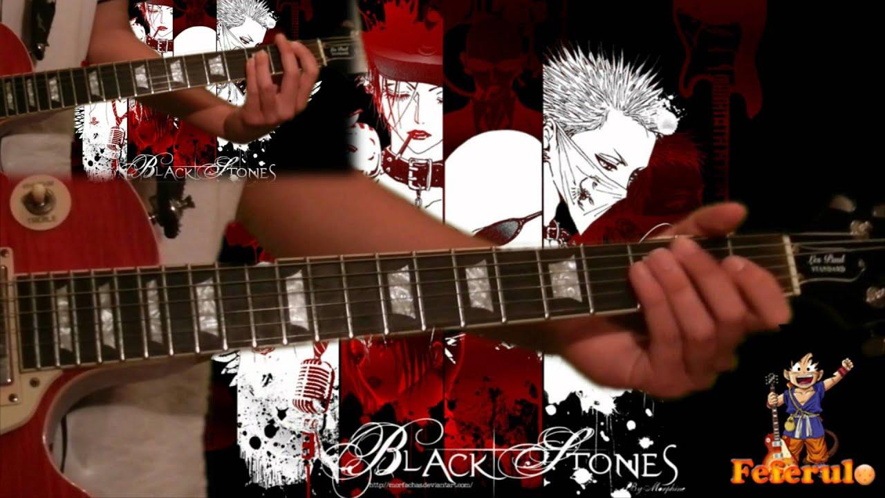 partition guitare rose anna tsuchiya