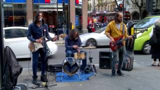 Superb reggae version of Pink Floyd's 'Time' by top London street band Funfiction - Stafaband