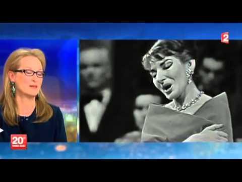 Meryl Streep deeply moved by Maria Callas (2014)