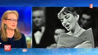 Meryl Streep deeply moved by Maria Callas (2014) thumbnail