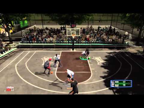 NBA 2K13 My Player Blacktop - I'm Stumbling! (OCT14 Games 1-3)