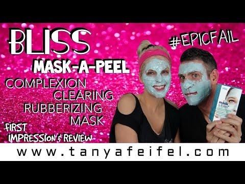 Bliss | Mask-A-Peel | Rubberizing Mask | First Impression | Tanya Feifel