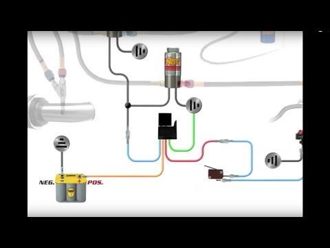 hqdefault how to wire an nos nitrous system youtube nitrous relay wiring diagram at bayanpartner.co