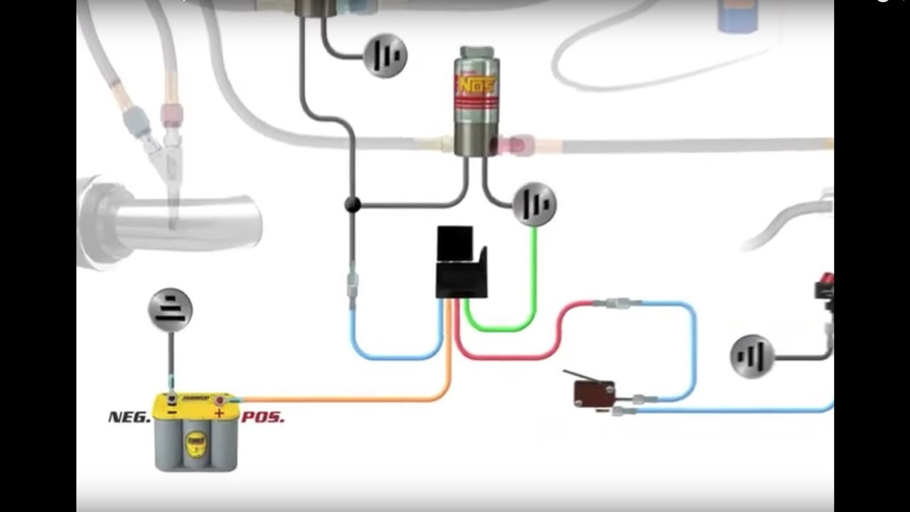 how to wire an nos nitrous system [ 1280 x 720 Pixel ]