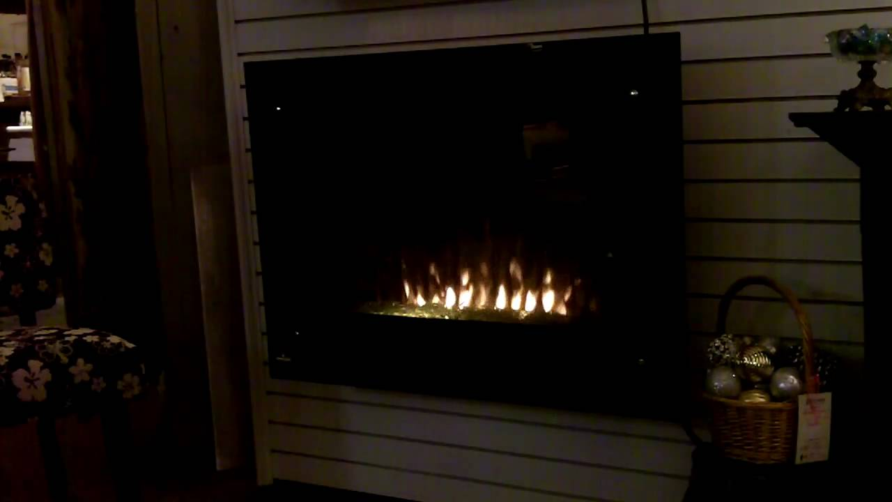 CRYSTALINE Electric Fireplace Video - YouTube