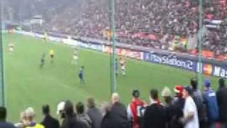 Gooners at the San Siro -- 5-1 win over Inter Milan - Nov 03