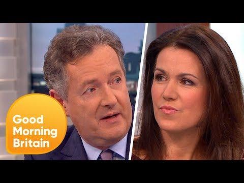 Piers Morgan and Susanna Reid Discuss Donald Trump's Interview   Good Morning Britain