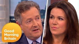 Piers Morgan and Susanna Reid Discuss Donald Trump's Interview | Good Morning Britain