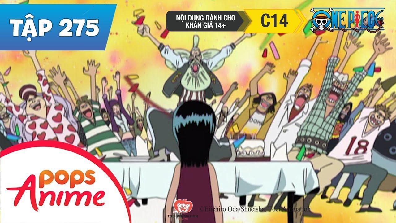 One Piece Tập 275 - Quá Khứ Của Robin! Con Gái Của Quỷ Dữ - Phim Hoạt Hình Đảo Hải Tặc