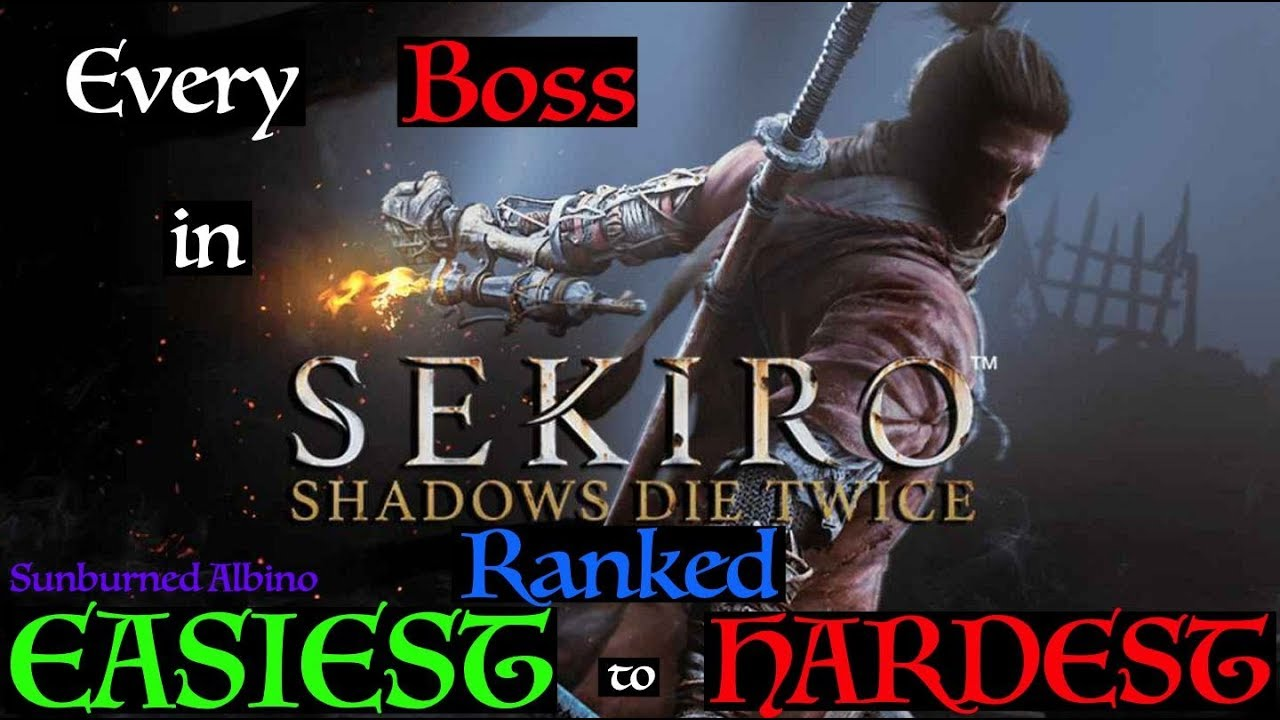 All Sekiro: Shadows Die Twice Bosses Ranked Easiest to Hardest