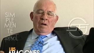 Entrevista Luis Aragones (Simplemente Fútbol)