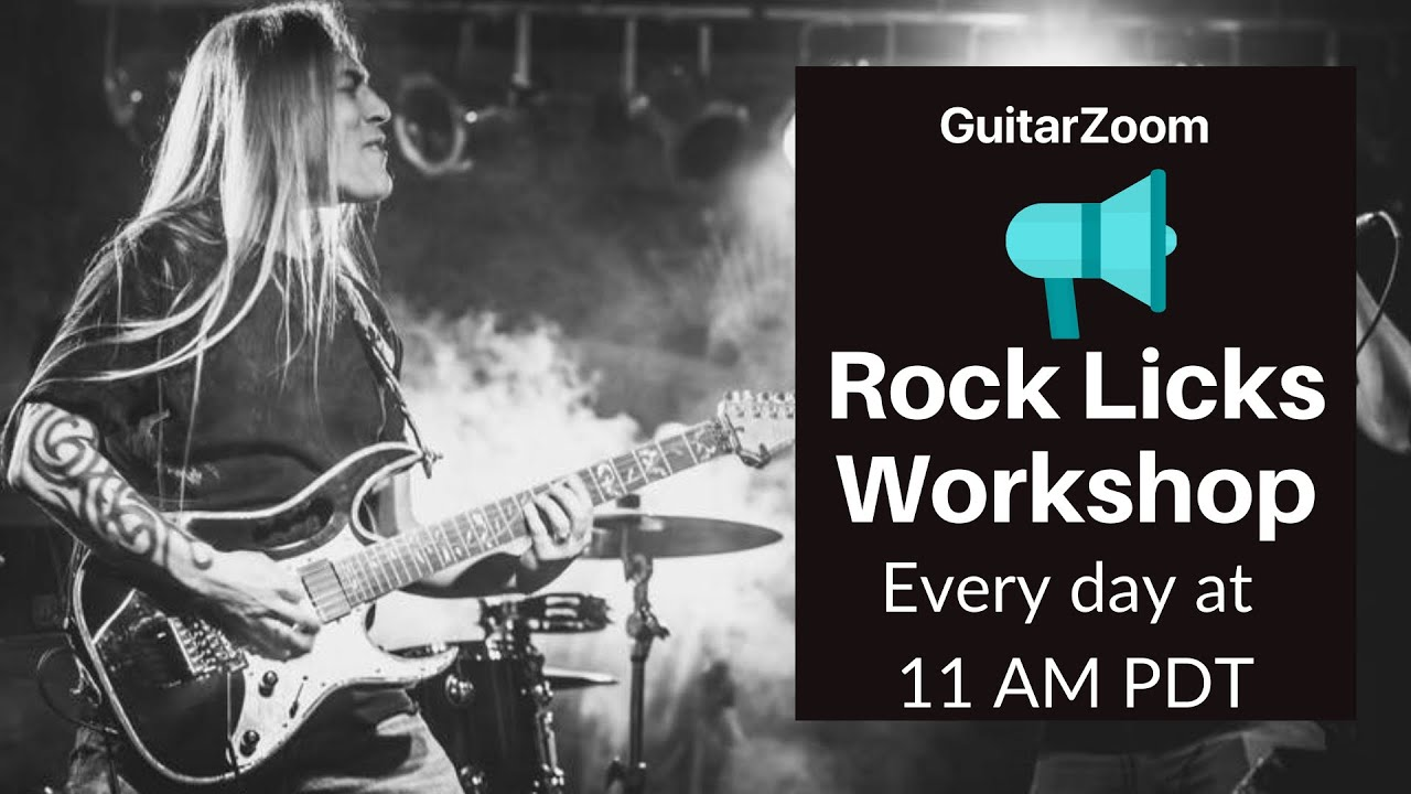 Rock Licks Workshop Announcement