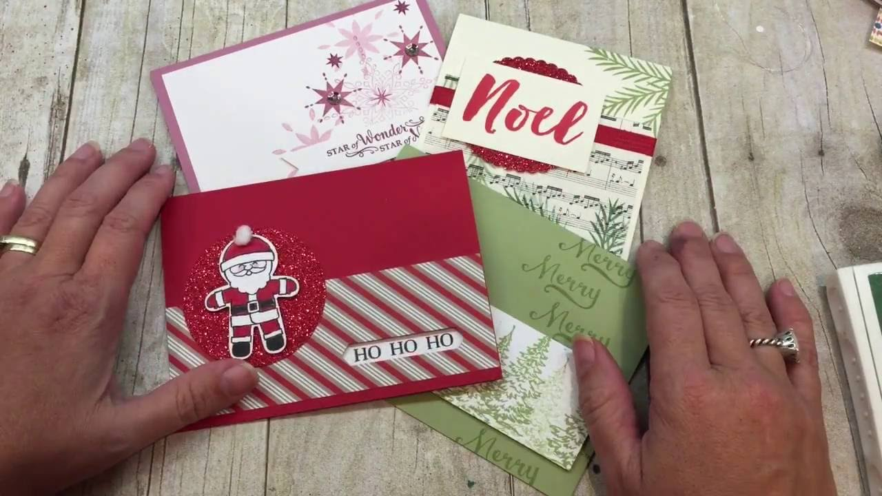quick christmas craft ideas friday techniques and tips cards 5304