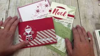 Friday Quickie Techniques and Tips: Quick Christmas Cards