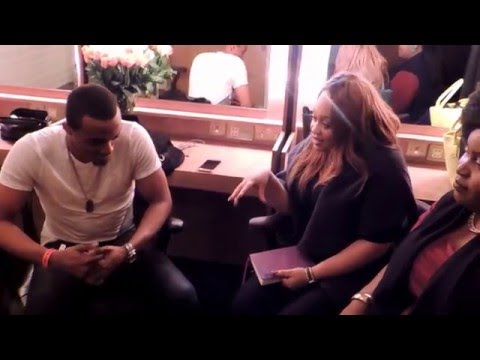 Jonathan McReynolds Backstage Interview with The Juicy Ladies