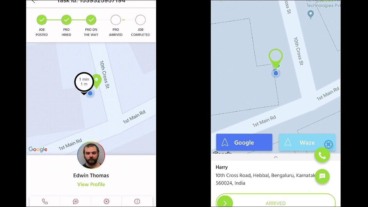 ServiceGenie | TaskRabbit Clone Software | Customer + Service Provider App