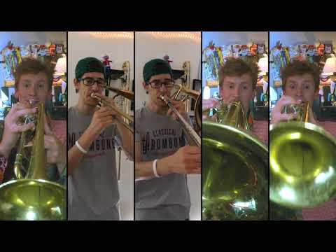 Abba  Dancing Queen for Brass Quintet feat Christopher Bill with sheet music