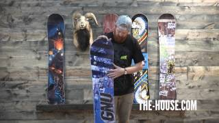 2014 Gnu Carbon Credit Snowboard - Review - The-House.com