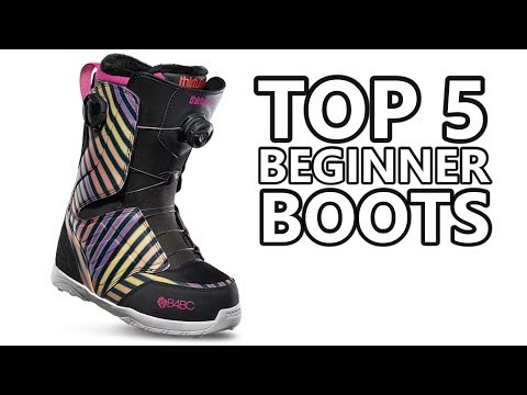 TOP 5 BEGINNER SNOWBOARD BOOTS