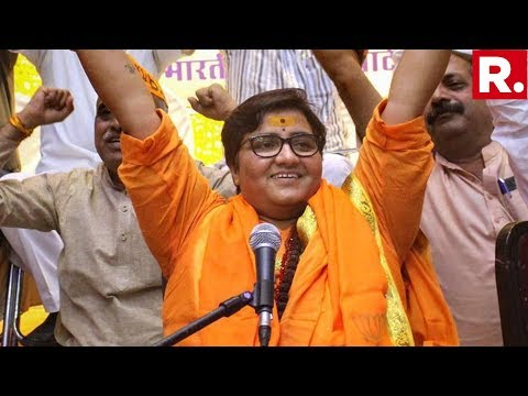 WATCH: BJP Bhopal Candidate Sadhvi Pragya's Victory Speech In Madhya Pradesh