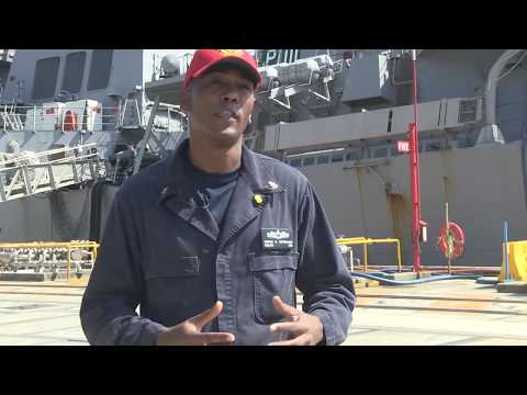 A Coordinated Support Effort for USS Fitzgerald