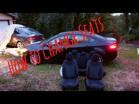 Changing Seats On Dodge Dart