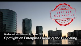 Oracle Applications Release September 2016 Spotlight on Enterprise Planning and Budgeting video thumbnail