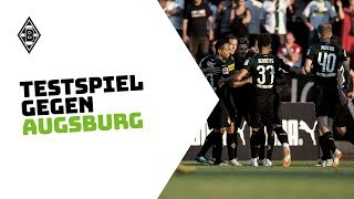 Borussia Monchengladbach 2 - 1 Augsburg