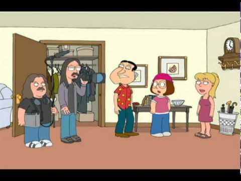 Mark Borchardt and Mike Schank on Family Guy